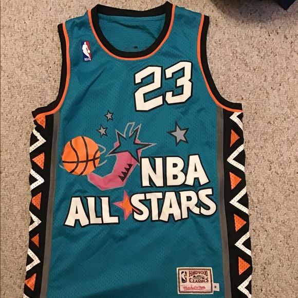 size 40 913fc 2b1f9 Michael Jordan All Star Jersey Large